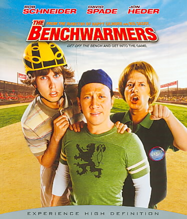 BENCHWARMERS BY SCHNEIDER,ROB (Blu-Ray)